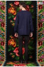 Camasa Barbati Tip Ie Populara Fecioreasca Stilizata cu Motive Traditionale Romanesti
