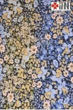 Fusta Dreapta din Jacquard cu Motive Florale