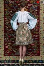 Ie Traditionala Romaneasca Maneca Lunga Motivul Viata