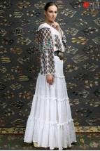 Ie Traditionala Romaneasca Maneca Lunga Motivul Goblen