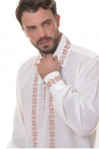 Ie Barbateasca Traditionala Romaneasca cu Maneca Lunga Motivul Toamna