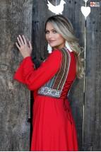 Rochie Iiana Maxi Red