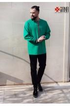 Camasa Barbateasca Contemporana Verde