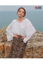 Ie Populara Traditionala Româneasca Maneca Lunga Motivul Maiastra