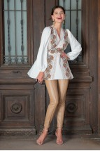 Bluza lunga Alesia Alba