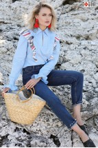 Camasa Bleu cu Marchizet Sanziana