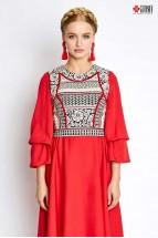 Rochie Iiana Midi Red